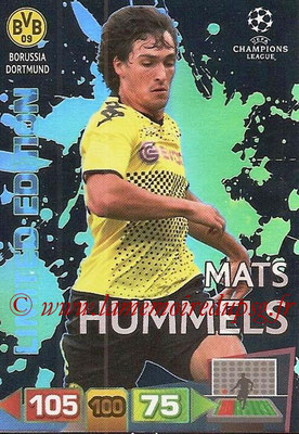 2011-12 - Panini Champions League Cards - N° LE15 - Mats HUMMEL (Borussia Dortmund) (Limited Edition)