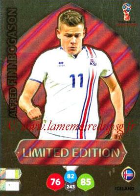 2018 - Panini FIFA World Cup Russia Adrenalyn XL - N° LE-AF - Alfred FINNBOGASON (Islande) (Limited Edition)