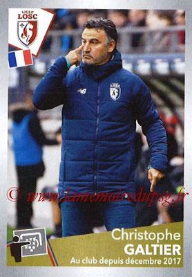 2017-18 - Panini Ligue 1 Stickers - N° T16 - Christophe GALTIER (Entraîneur Lille) (Transfert)