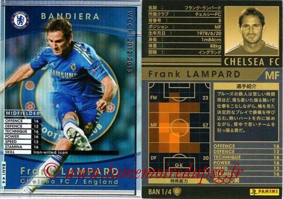 2012-13 - WCCF - N° BAN1 - Frank LAMPARD (Chelsea FC) (Bandiera)