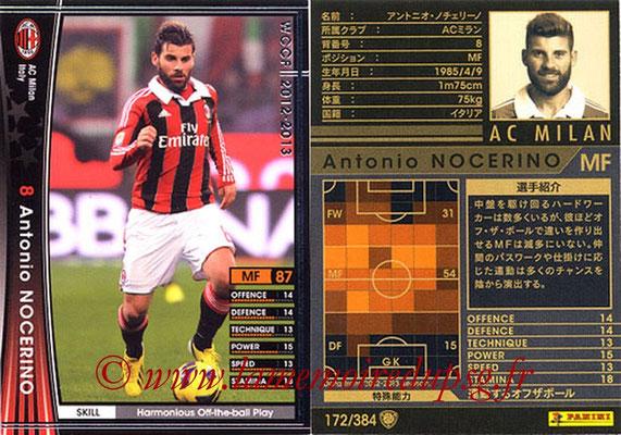 2012-13 - WCCF - N° 172 - Antonio NOCERINO (Milan AC)