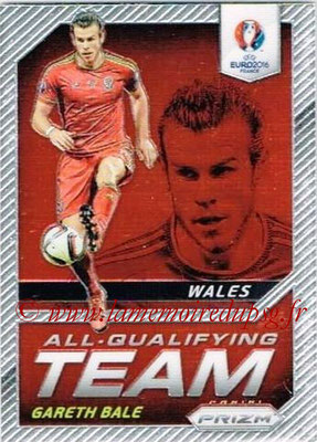 Euro 2016 Panini Prizm - N° AQ-09 - Gareth BALE (Pays de Galles) (All-Qualifying Team)