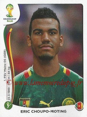 2014 - Panini FIFA World Cup Brazil Stickers - N° 104 - Eric CHOUPO-MOTING (Cameroun)
