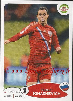 2014 - Panini Road to FIFA World Cup Brazil Stickers - N° 331 - Sergei IGNASHEVICH (Russie)