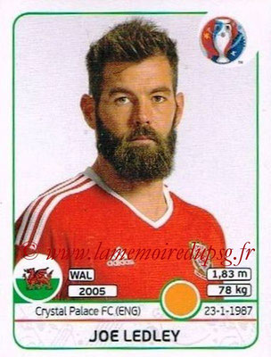 Panini Euro 2016 Stickers - N° 192 - Joe LEDLEY (Pays de Galles)