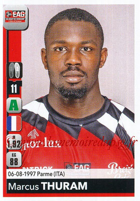 2018-19 - Panini Ligue 1 Stickers - N° 146 - Marcus THURAM (Guingamp)