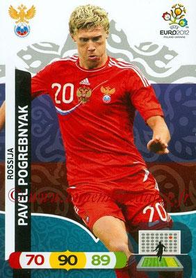 Panini Euro 2012 Cards Adrenalyn XL - N° 199 - Pavel POGREBNYAK (Russie)