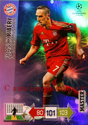 2012-13 - Adrenalyn XL champions League N° 330 - Franck RIBERY (FC Bayern Munich) (Master)