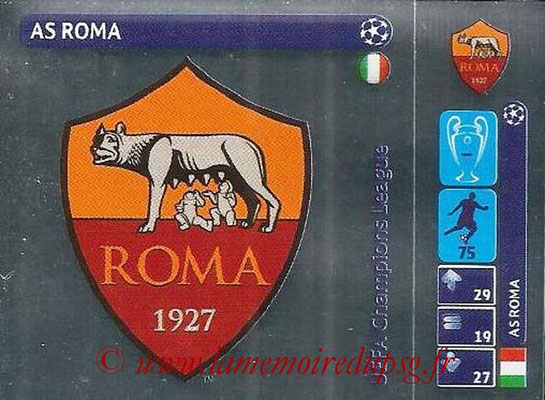 2014-15 - Panini Champions League N° 024 - Logo AS Roma