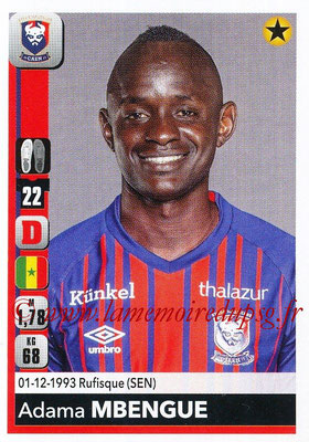 2018-19 - Panini Ligue 1 Stickers - N° 084 - Adama MBENGUE (Caen)