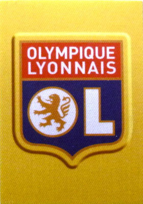 2014-15 - Panini Ligue 1 Stickers - N° 193 - Ecusson Olympique Lyonnais