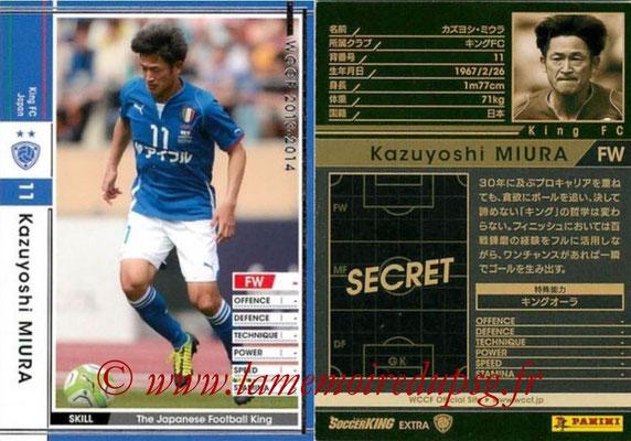 2013-14 - WCCF - N° EXT - Kazuyoshi MIURA (King FC) (Extra)