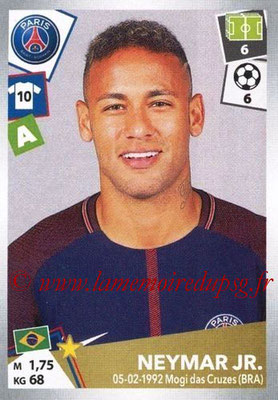 2017-18 - Panini Ligue 1 Stickers - N° 384 - NEYMAR Jr. (Paris Saint-Germain)