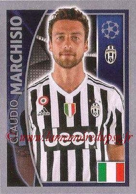 2015-16 - Topps UEFA Champions League Stickers - N° 245 - Claudio MARCHISIO (Juventus FC)