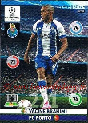 2014-15 - Adrenalyn XL champions League Update edition N° UE071 - Yacine BRAHIMI (FC Porto)