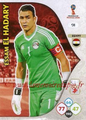 2018 - Panini FIFA World Cup Russia Adrenalyn XL - N° 091 - Essam EL HADARY (Egypte)