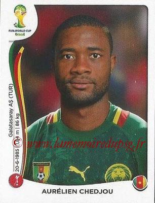 2014 - Panini FIFA World Cup Brazil Stickers - N° 092 - Aurélien CHEDJOU (Cameroun)