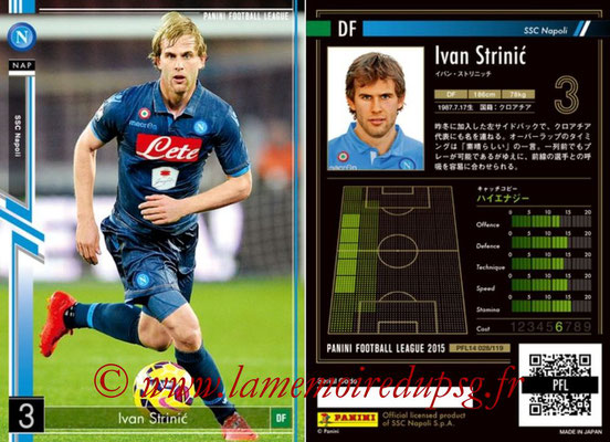 Panini Football League 2015 - PFL14 - N° 028 - Ivan STRINIC (SSC Napoli)