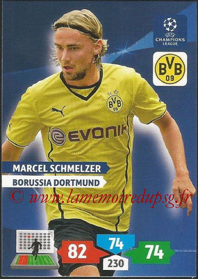 2013-14 - Adrenalyn XL champions League N° 102 - Marcel SCHMELZER (Borussia Dortmund)