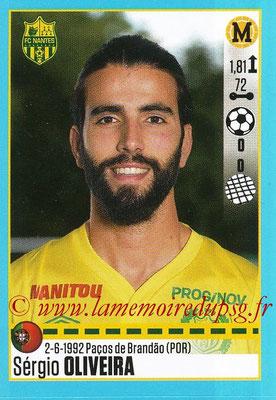 2016-17 - Panini Ligue 1 Stickers - N° T35 - Sergio OLIVEIRA (Nantes) (Set Transfert)