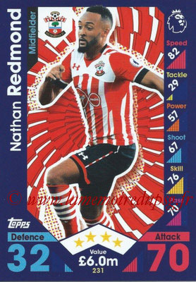 2016-17 - Topps Match Attax Premier League - N° 231
