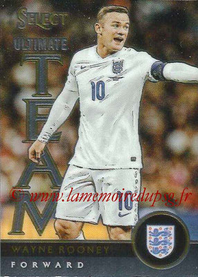 2015 - Panini Select Soccer - N° UT18 - Wayne ROONEY (Angleterre) (Ultimate Team)