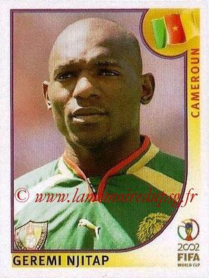2002 - Panini FIFA World Cup Stickers - N° 375 - Geremi NJITAP (Cameroun)