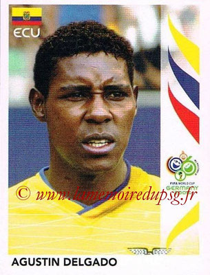 2006 - Panini FIFA World Cup Germany Stickers - N° 089 - Agustin DELGADO (Equateur)