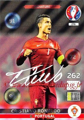 Panini Euro 2016 Cards - N° 276 - Cristiano RONALDO (Portugal) (Signature)
