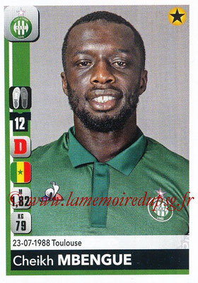 2018-19 - Panini Ligue 1 Stickers - N° 430 - Cheikh MBENGUE (Saint-Etienne)