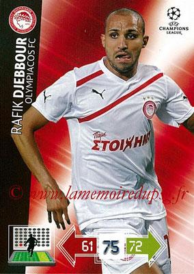 2012-13 - Adrenalyn XL champions League N° 191 - Rafik DJEBBOUR (Olympiacos FC)