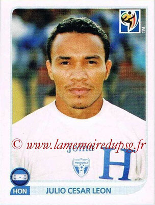 2010 - Panini FIFA World Cup South Africa Stickers - N° 615 - Julio Cesar LEON (Honduras)