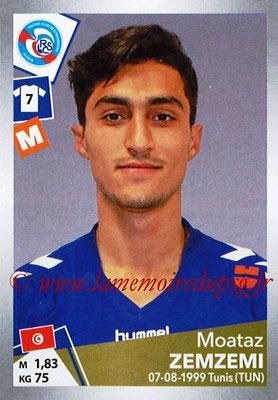 2017-18 - Panini Ligue 1 Stickers - N° T36 - Moataz ZEMZEMI (Strasbourg) (Transfert)