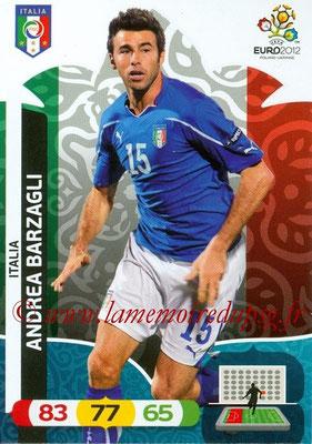Panini Euro 2012 Cards Adrenalyn XL - N° 117 - Andrea BARZAGLI (Italie)