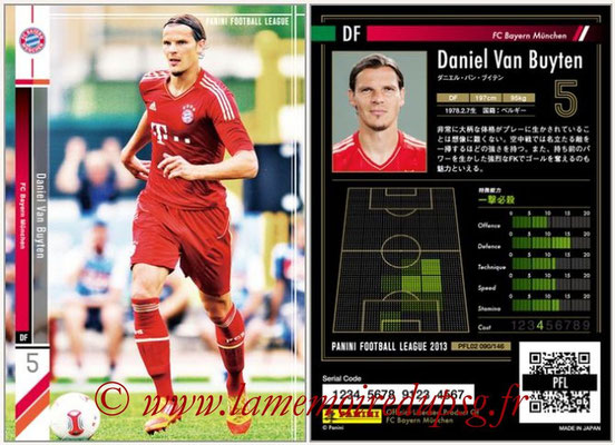 Panini Football League 2013 - PFL02 - N° 090 - Daniel Van Buyten ( FC Bayern Munchen )