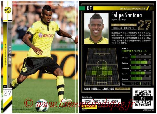 Panini Football League 2013 - PFL01 - N° 136 - Felipe Santana ( BV Borussia 09 Dortmund )