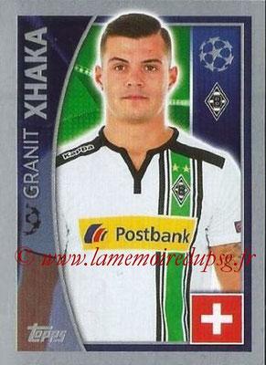 2015-16 - Topps UEFA Champions League Stickers - N° 285 - Granit XHAKA (VfL Borussia Mönchengladbach)