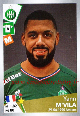 2017-18 - Panini Ligue 1 Stickers - N° T32 - Yann M'VILA (Saint-Etienne) (Transfert)