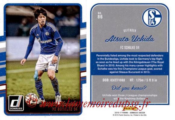 2016 - Panini Donruss Cards - N° 086 - Atsuto UCHIDA (FC Schalke 04)