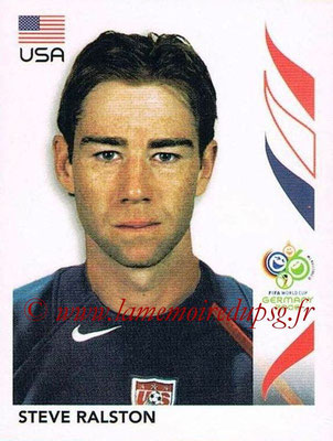 2006 - Panini FIFA World Cup Germany Stickers - N° 353 - Steve RALSTON (États Unis)