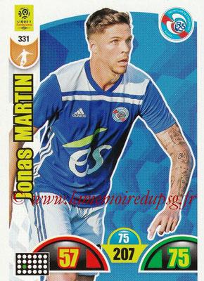 2018-19 - Panini Adrenalyn XL Ligue 1 - N° 331 - Jonas MARTIN (Strasbourg)