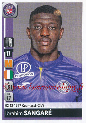 2018-19 - Panini Ligue 1 Stickers - N° 491 - Ibrahim SANGARE (Toulouse)