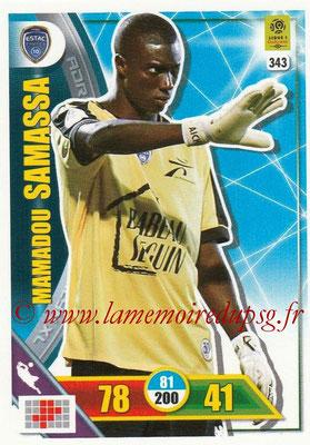 2017-18 - Panini Adrenalyn XL Ligue 1 - N° 343 - Mamadou SAMASSA (Troyes)