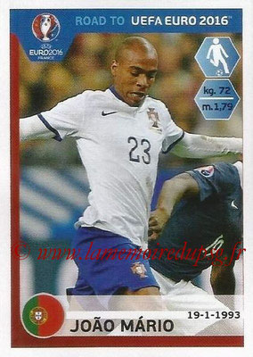 Panini Road to Euro 2016 Stickers - N° 235 - Joao MARIO (Portugal)