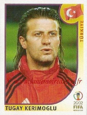 2002 - Panini FIFA World Cup Stickers - N° 198 - Tugay KERIMOGLU (Turquie)
