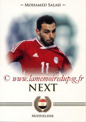 2014 - Futera World Football Unique - N° 100 - Mohamed SALAH (Midfielder) (Next)