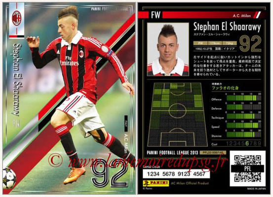 Panini Football League 2013 - PFL03 - N° 008 - Stephan El Shaarawy (Milan AC)