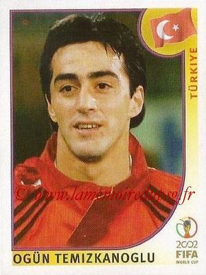2002 - Panini FIFA World Cup Stickers - N° 193 - Ogün TEMIZKANOGLU (Turquie)