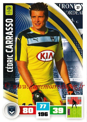 2016-17 - Panini Adrenalyn XL Ligue 1 - N° 037 - Cédric CARRASSO (Bordeaux)