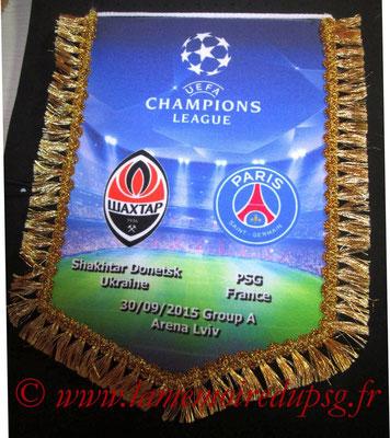 Grand Fanion  Shakhtar Donetsk-PSG  2015-16